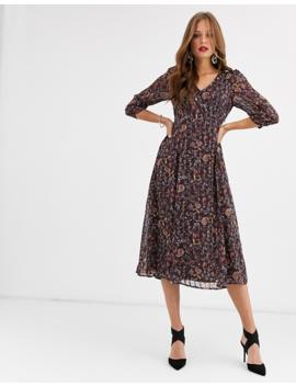 vila-paisley-midi-dress by vila
