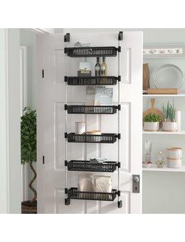 Caryl Overdoor 6 Shelf Cabinet Door Organizer by Project Tidy