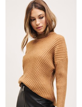 Textured Tunic Sweater by Dynamite