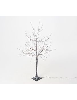 Indoor/Outdoor 4' Birch Tree With Lights And Remote By Valerie by Festive Get Togethers To Fireworks (And Everything In Between!), Leave This Dazzler Up For Year Round Indoor Or Outdoor Twinkle