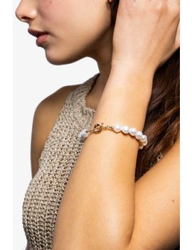 **Pearl Clasp Bracelet by Topshop
