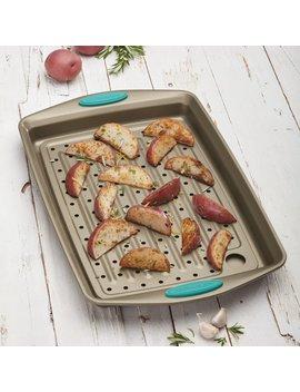 Non Stick Cucina Bakeware 2 Piece Crisper Pan Set by Rachael Ray
