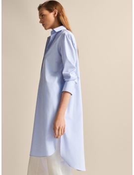 100 Percents Cotton Shirt Dress by Massimo Dutti