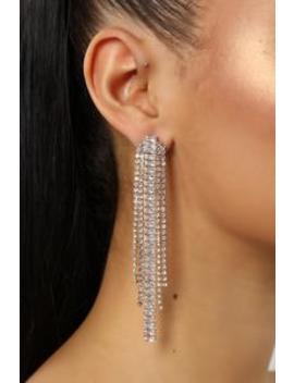 Watch The Waterfall Earrings   Gold by Fashion Nova