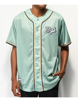 Dgk Aztech Mint Baseball Jersey by Dgk