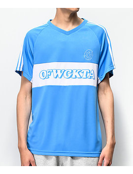 Odd Future Blue Soccer Jersey by Odd Future