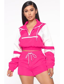 jessica-windbreaker-jacket---neon-pink_white by fashion-nova