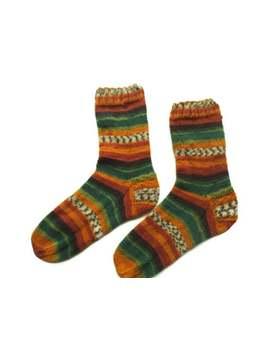 Knitted Wool Socks, Warm Socks, Christmas Gift, Art Socks, Print Socks, House Socks, Unique Socks, Boot Socks, Cozy Warmers, Socky Socks by Etsy