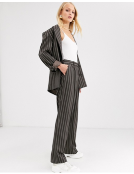 Asos Design Oversized Suit In Pinstripe by Asos Brand