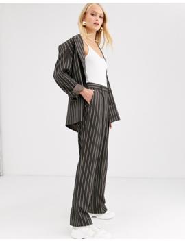 asos-design-oversized-suit-in-pinstripe by asos-brand