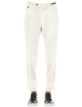 18 Cm Virgin Wool Pants by Pantaloni Torino