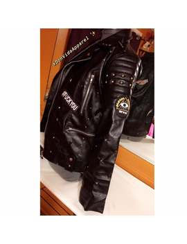 Trust No One Custom Motorcycle Leather Jacket by Etsy