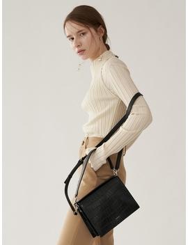 Leve Bag Croco Black by Demaker