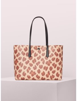 Molly Leopard Large Tote by Kate Spade
