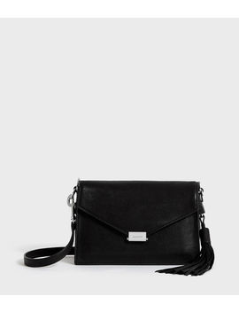 Miki Leather Crossbody Bag by Allsaints