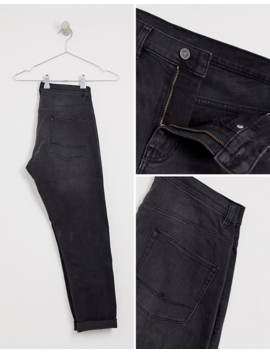 Asos Design Tapered Jeans In Washed Black by Asos Design