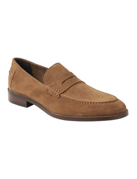 Dellbrook Suede Loafer by Banana Repbulic