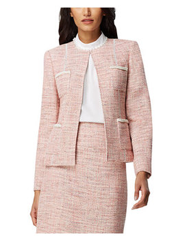 Metallic Boucle Jacket by General