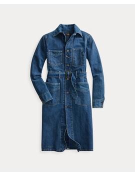Herringbone Twill Shop Coat by Ralph Lauren