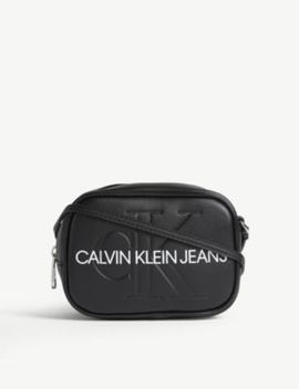 Leather Camera Bag by Calvin Klein Jeans
