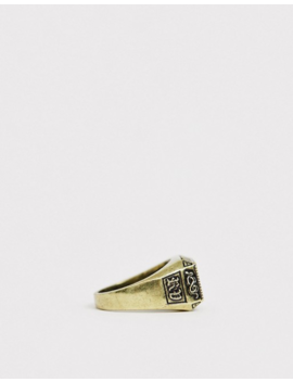 reclaimed-vintage-inspired-branded-ring-in-gold-exclusive-to-asos by reclaimed-vintage