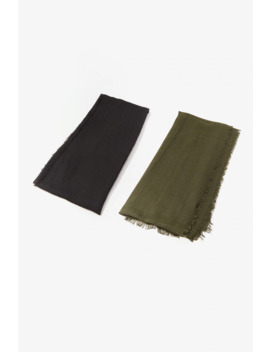 Geo Oblong Scarf by Forever 21