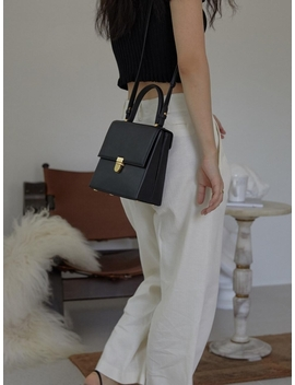 Large More Bag Plain Black by Other And