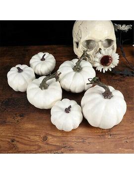 <Span><Span>6/12x Halloween Artificial Small Foam Pumpkins Simulation Props Home Party Decor</Span></Span> by Ebay Seller
