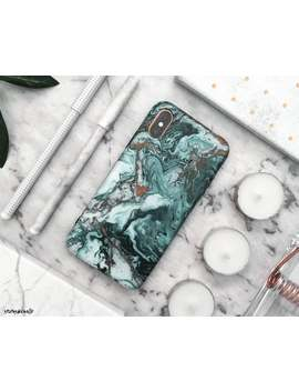 Oil I Phone Case I Phone Xs Max Case I Phone Xs Case I Phone Xr Case I Phone X Case I Phone 8 Plus Case 8 Case 7 Plus 7 6 S 6 Green Marble Rubber by Etsy