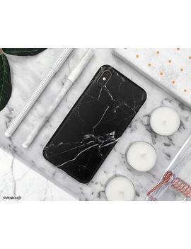 Marble I Phone Case I Phone Xs Max Case I Phone Xs Case I Phone Xr Case I Phone X Case I Phone 8 Plus Case I Phone 8 Case 7 Plus 7 6 S 6 Black by Etsy