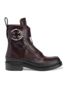 Roy Leather Ankle Boots by Chloé
