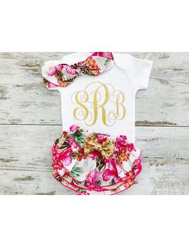 Personalized Baby Clothes, Baby Girl Clothes, Baby Clothes Girl, Monogram Baby Gift, Baby Girl Gift, Monogram Baby Girl, Baby Girl Clothes by Etsy