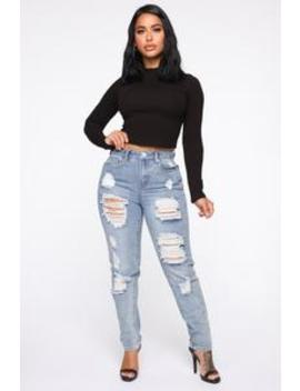 lola-destructed-jeans---light-blue-wash by fashion-nova
