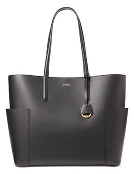 Carlyle Smooth Leather Tote by General
