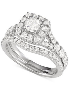 Diamond Halo Bridal Set (2 Ct. T.W.) by General