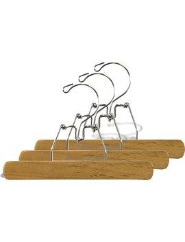 Wooden Clamp Pant Hanger by Rebrilliant