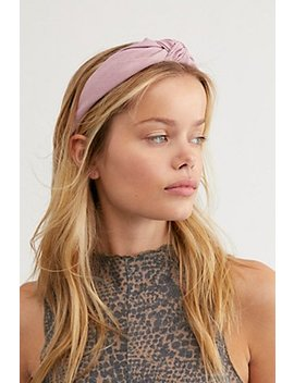 Striped Knot Top Headband by Free People