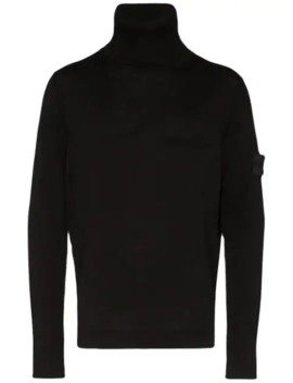 Sweater Med Rullekrave by Stone Island Shadow Project
