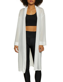 Mesh Long Sleeve Duster by Rainbow