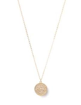 its-in-the-stars-taurus-pendant---gold by fashion-nova
