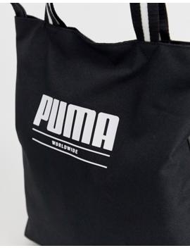 Puma Core Base Black Shopper by Puma