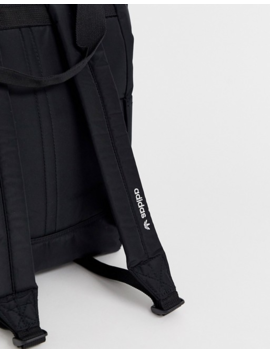 Adidas Originals Trefoil Backpack In Black by Adidas