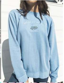 Belmont Shore Olympic Pool Crew Neck Sweatshirt by Etsy