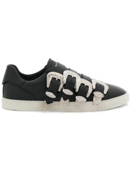 Western Buckled Sneakers by Dsquared2
