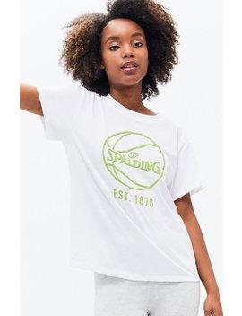 Spalding Basketball Boyfriend T Shirt by Pacsun