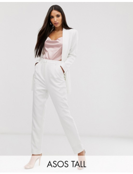 Asos Edition Tall Tailored Suit In Ivory by Asos Brand