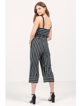 Brooklyn Striped Jumpsuit by Francesca's