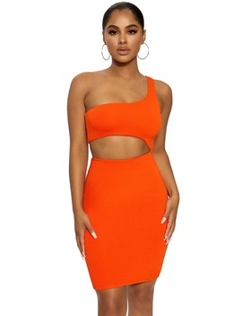 The Nw Side Piece Dress by Naked Wardrobe