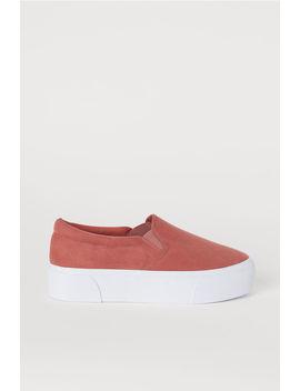 Slip On Platform Shoes by H&M