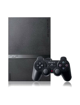 Sony Play Station 2 Slim Black Console Good Condition by Ebay Seller